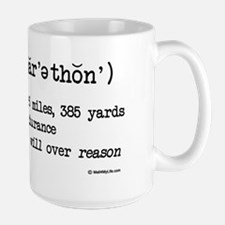 Marathon Definition for light Mug
