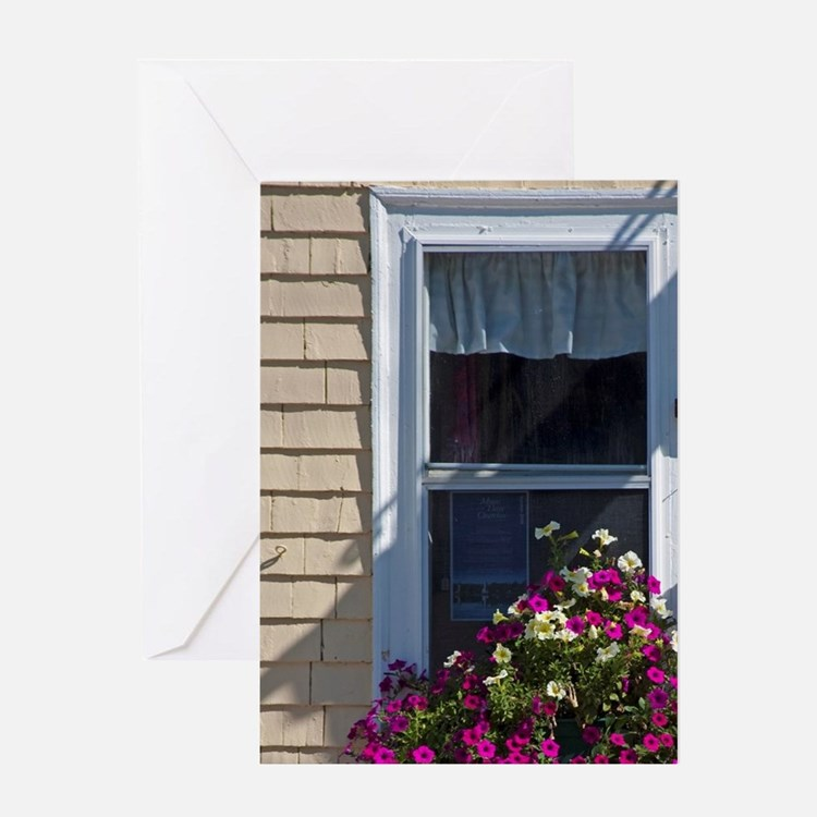 Canada, Nova Scotia, Mahone Bay Wind Greeting Card