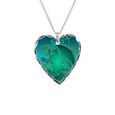 urban griffin teal Necklace