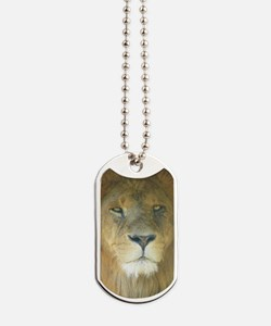 Lion pposter Dog Tags