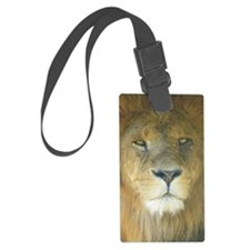 Lion pposter Luggage Tag