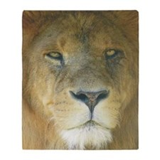 Lion pposter Throw Blanket