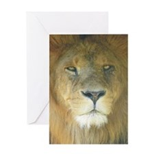 Lion pposter Greeting Card