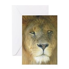 Lion journal Greeting Card
