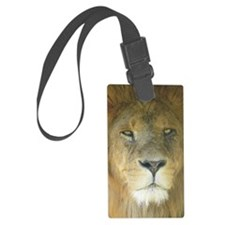 Lion journal Luggage Tag