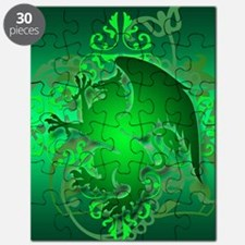 urban griffin green Puzzle