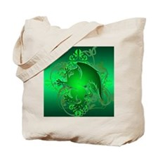urban griffin green Tote Bag