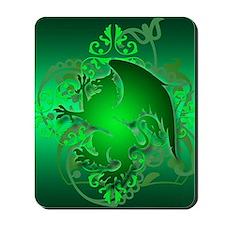urban griffin green Mousepad