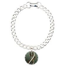 EscherLargeResized Charm Bracelet, One Charm