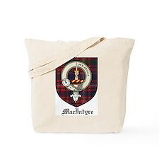 MacIntyre Clan Crest Tartan Tote Bag
