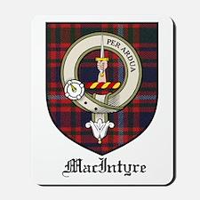 MacIntyre Clan Crest Tartan Mousepad
