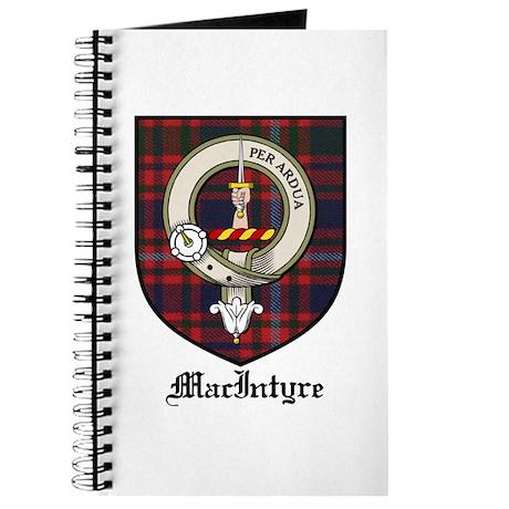 MacIntyre Clan Crest Tartan Journal