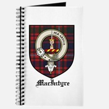 MacIntyre Clan Crest Tartan Journal