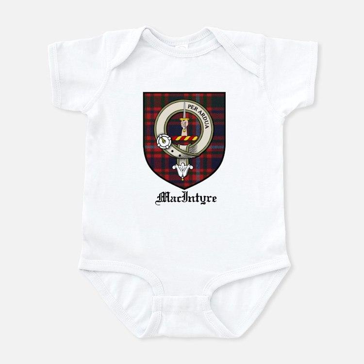 MacIntyre Clan Crest Tartan Infant Bodysuit
