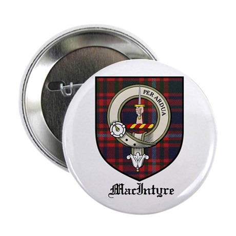 "MacIntyre Clan Crest Tartan 2.25"" Button (10 pack)"