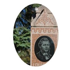 Gravesite of Louis Riel Rights Advoc Oval Ornament