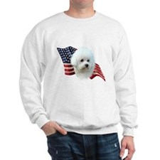 Bichon Flag Sweatshirt