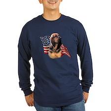 Bloodhound Flag T
