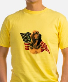 Bloodhound Flag T