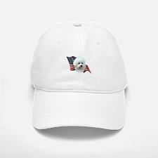 Bichon Flag Baseball Baseball Cap
