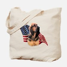 Bloodhound Flag Tote Bag