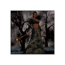 "voodoo priestess Square Sticker 3"" x 3"""