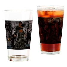 voodoo priestess Drinking Glass