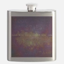 Look At The Stars Look T-shirt copy Flask