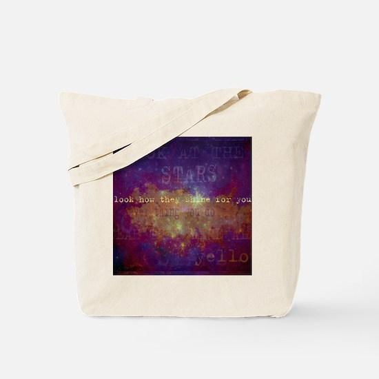 Look At The Stars Look T-shirt copy Tote Bag