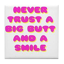 never trust Tile Coaster