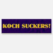 corporate koch womens long sleeve Bumper Bumper Sticker