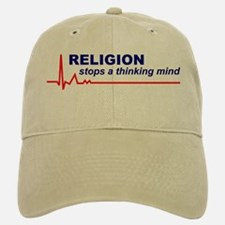 Religion Stops a Thinking Mind Baseball Baseball Cap / Hat