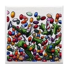 Celebrate Jellybeans And Crocs 06 Tile Coaster