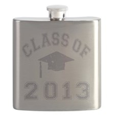 CO2013 Cap Gray Distressed Flask