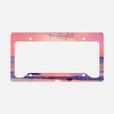 Twilight License Plate Holder