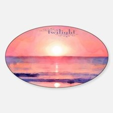 Twilight Sticker (Oval)