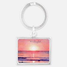 Twilight Landscape Keychain