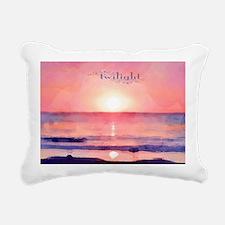 Twilight Rectangular Canvas Pillow
