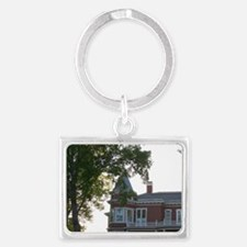 NA, Maine, Bangor. The house of Landscape Keychain