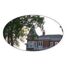 NA, Maine, Bangor. The house of wri Decal
