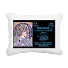 1 A CVR-VAN ARSDALE Brid Rectangular Canvas Pillow