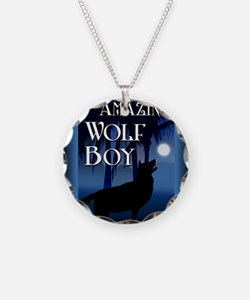 The Amazing Wolf Boy mouse p Necklace