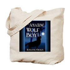 The Amazing Wolf Boy mouse pad Tote Bag