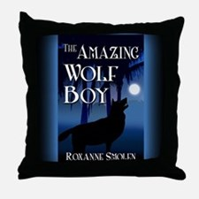 The Amazing Wolf Boy mouse pad Throw Pillow