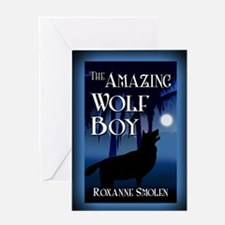 The Amazing Wolf Boy mouse pad Greeting Card