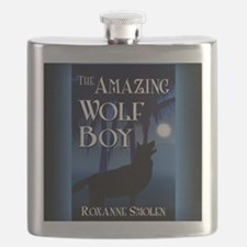 The Amazing Wolf Boy mouse pad Flask