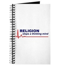 Religion Stops a Thinking Mind Journal
