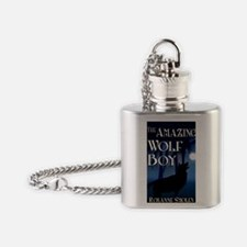 The Amazing Wolf Boy Flask Necklace