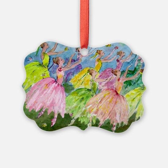 flowerdance1. Ornament