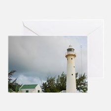 Grand Turk Lighthouse, Grand Turk, T Greeting Card
